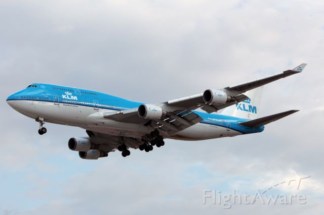 Boeing 747-400 (PH-BFS) - KLM / Boeing 747-406(M) / MSN 28195 / PH-BFS / MMMX 07/2019