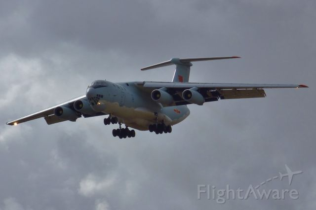 Ilyushin Il-76 (N21045) - Completing another search flight to find missing MH370.