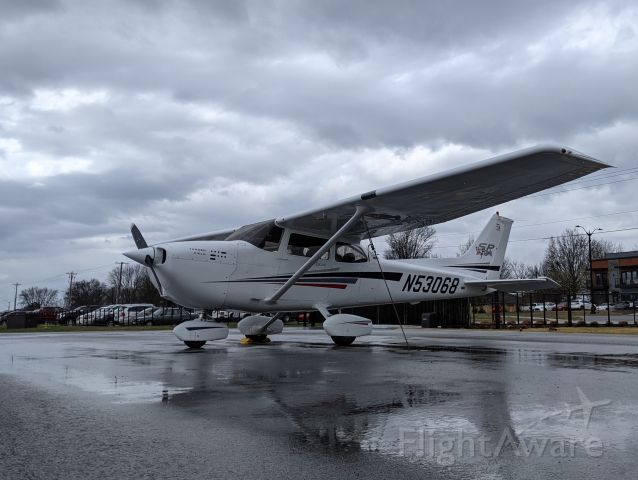 Cessna Skyhawk (N53068) - Wrapping things up after getting some real-world instrument flying in