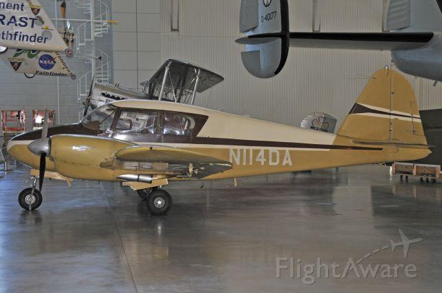 Piper Apache (N114DA) - Seen at the Udvar-Hazy Museum at KIAD on 6/6/2009.