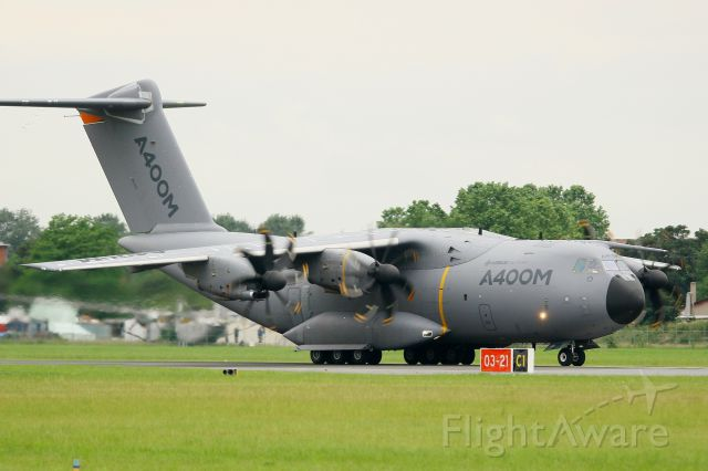 AIRBUS A-400M Atlas (F-WWMS) - Airbus Military A-400M Atlas, Paris-Le Bourget Air Show 2013