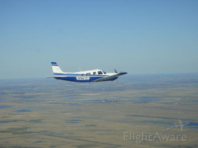 Piper Saratoga (N328HP) - 3000 FT over south Louisiana