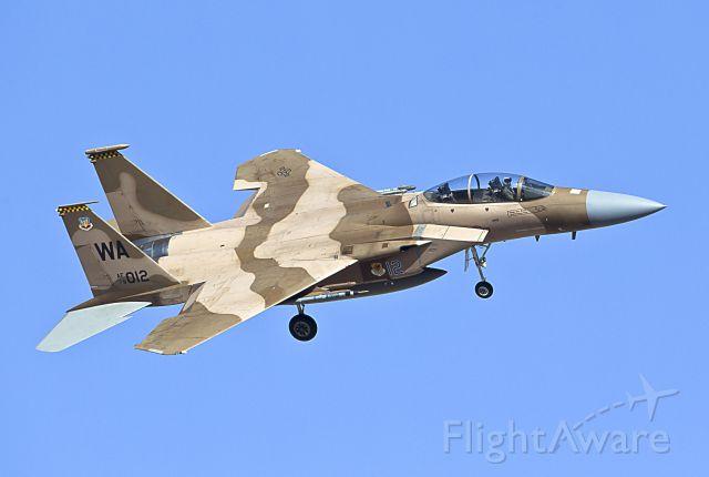 McDonnell Douglas F-15 Eagle (WAAF79012) - McDonnell Douglas F-15 Eagle - Aggressor<br />Red Flag Exercise - Nellis Air Force Base (03/13)<br />WA AF79 012 - from Nellis AFB, NV