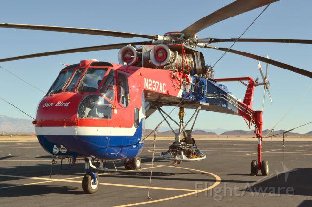 Sikorsky CH-54 Tarhe (N237AC) - Erickson Air-Crane