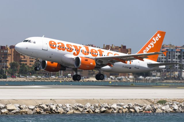 Airbus A320 (G-EZGP) - On a boat in Marina Bay, Gibralter. This image lifted within 5 mins of capture Canon 5Mk11 70-200 2.8
