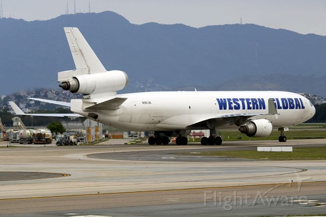 Boeing MD-11 (N581JN)