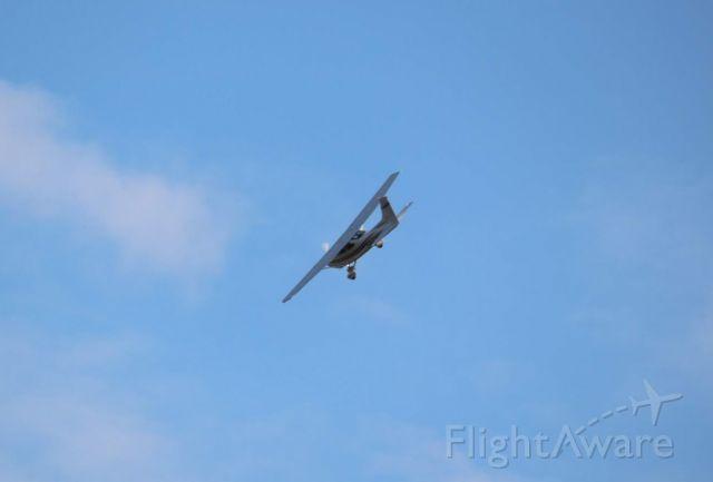 Cessna Skylane (N2366Y) - Out flying my RC & get a low pass est. 400 AGL  pipeline patrol.br /222030230000100, Gypsum, KS 67210