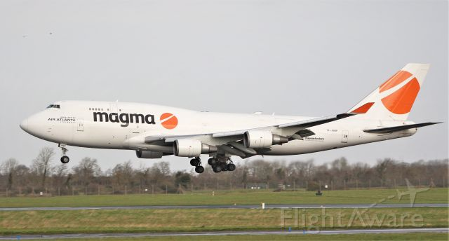 Boeing 747-400 (TF-AMP) - magma b747-481f tf-amp landing at shannon from lax 11/3/20.