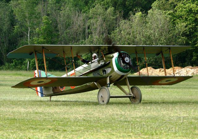Cessna 140 (N3836) - Spad XIII - 3836 , La Ferté-Alais Airfield (LFFQ) Air Show (Le Temps Des Hélices) in may 2012