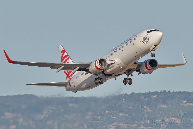 Boeing 737-800 (VH-VUS) - Departed runway 23, 13 Jan 2020
