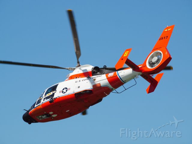N6517 — - USCG Traverse City MH-65 in commemorative colors.  Cherry Festival airshow 2016.