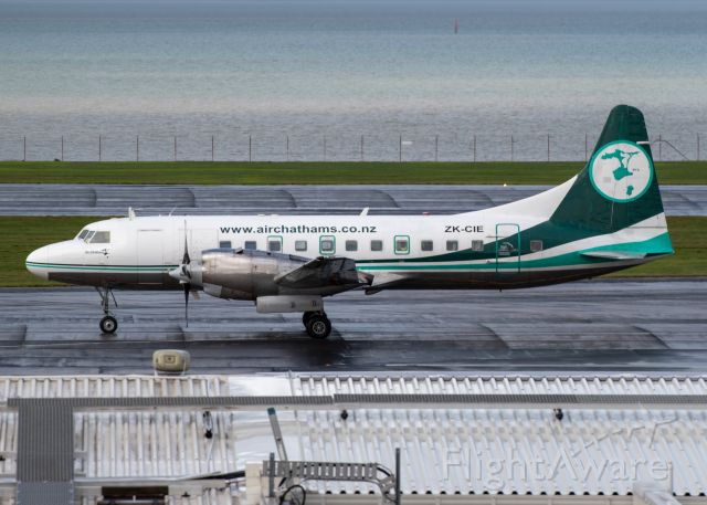 ZK-CIE — - One of the last of the CV580s remaining in the Chathams Fleet.