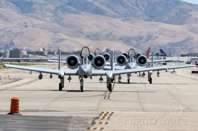 """Fairchild-Republic Thunderbolt 2 (78-0618) - Not One, not Two, not Three, but Four A-10s in a Hawgephant Walk. Full quality photo --> <a rel=""""nofollow"""" href=""""http://www.jetphotos.com/photo/8675918"""">https://www.jetphotos.com/photo/8675918</a>"""