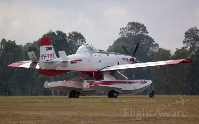 AIR TRACTOR Fire Boss (VH-FBX)