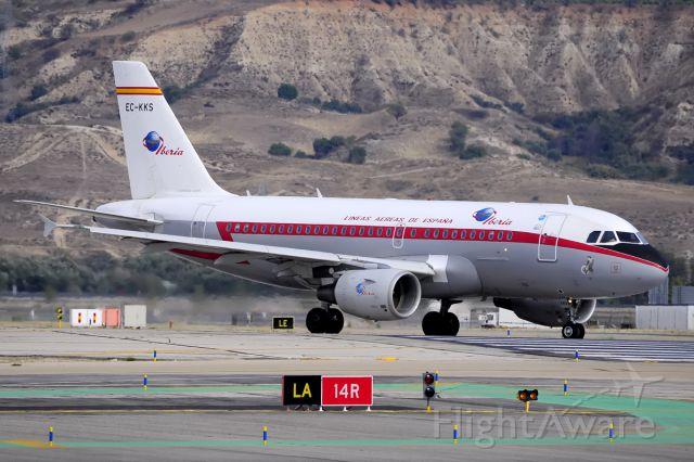 Airbus A319 (EC-KKS)