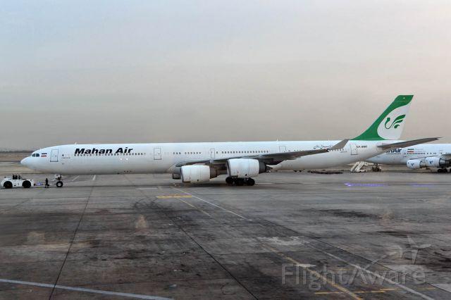 Airbus A340-600 (EP-MMF)