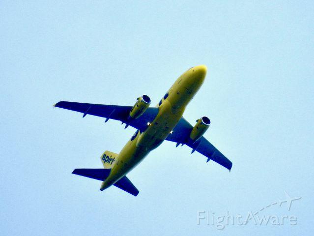 Airbus A319 (N514NK) - NKS267 PHL-LAX