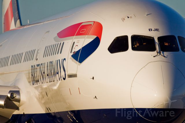 Boeing 787-8 (G-ZBJE) - British Airways 787 minutes from departing YYZ to Heathrow!  Taken by 06L