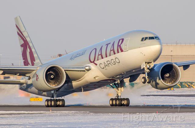 Boeing 777-200 (A7-BFD) - Qatar Cargo 777F A7BFD