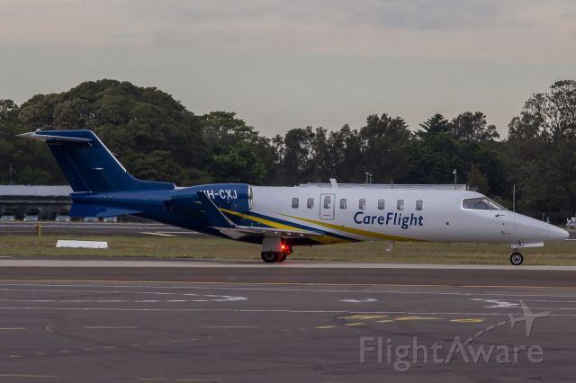 Learjet 45 (VH-CXJ)