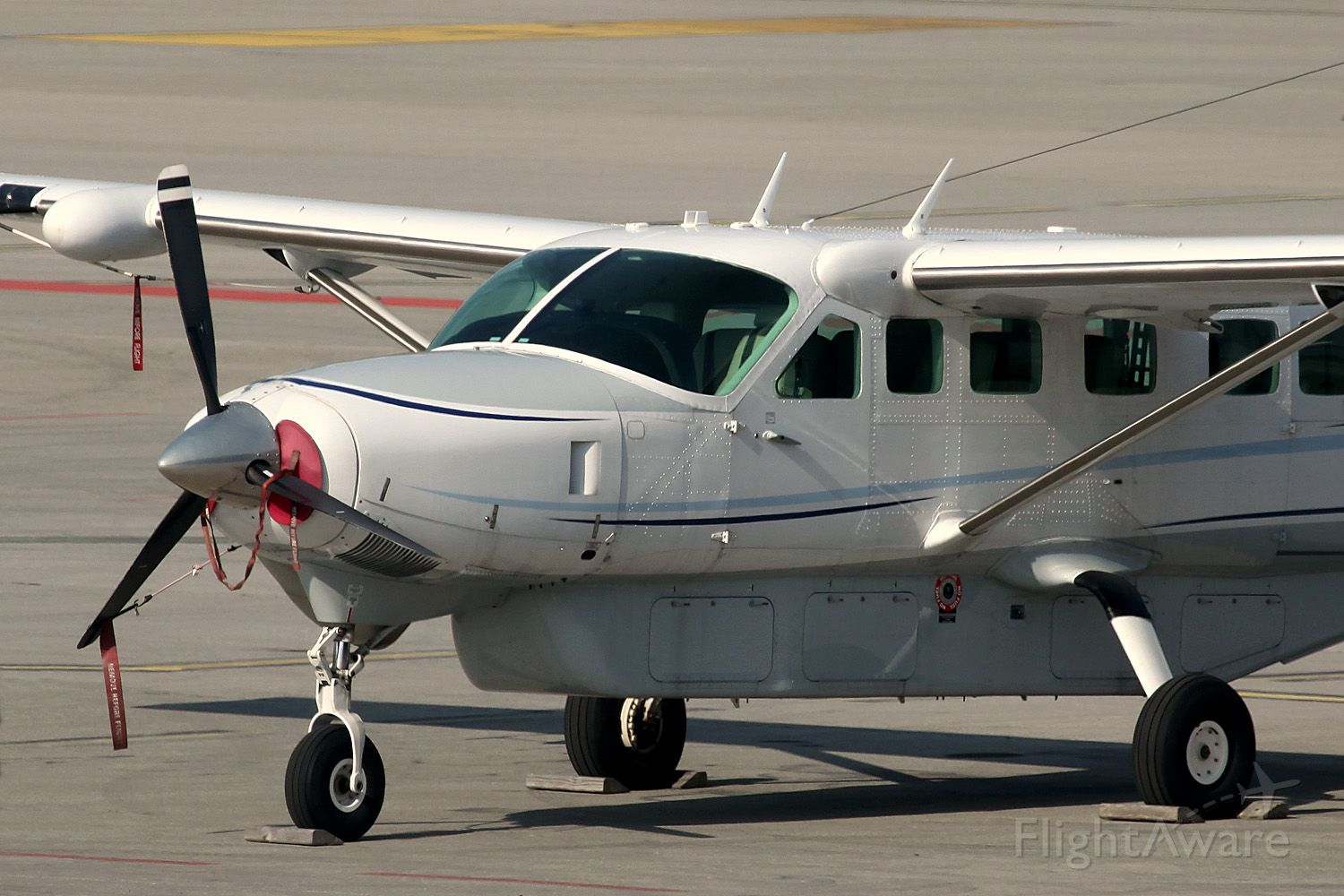 Cessna Caravan (N717RD) - Stationed at EBLG 2013 (Liege airport in Belgium)