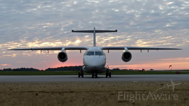 Fairchild Dornier 328JET (UJC7) - N407FJ out of MX ready to start a new day of hops.