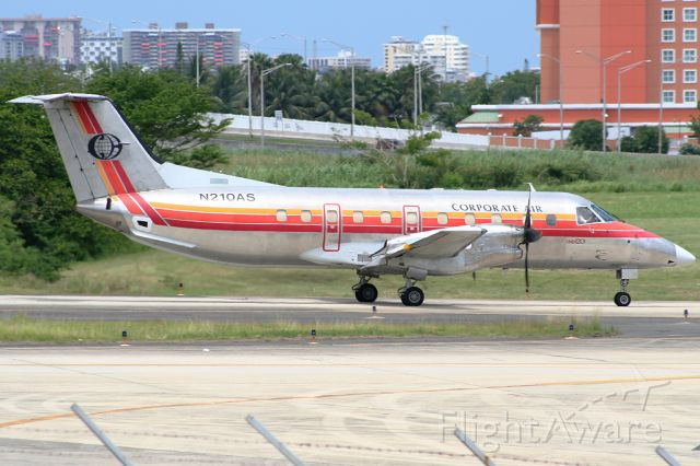 Embraer EMB-120 Brasilia (N210AS) - Now it have a new paint job, here is seen with the ASA colors. Félix Bahamonde - PR Planespotters