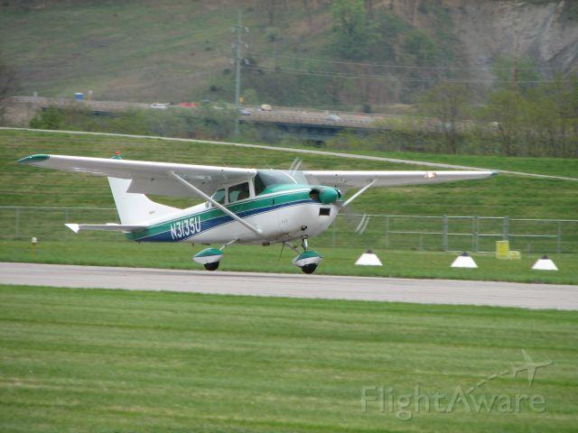 Cessna Skylane (N3135U) - Landing at the Pancake breakfast