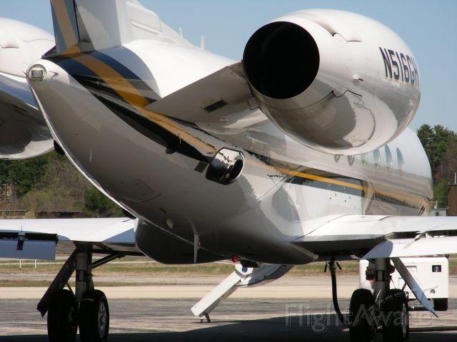 Gulfstream Aerospace Gulfstream V (N516GH) - An unusual angle of Nashua