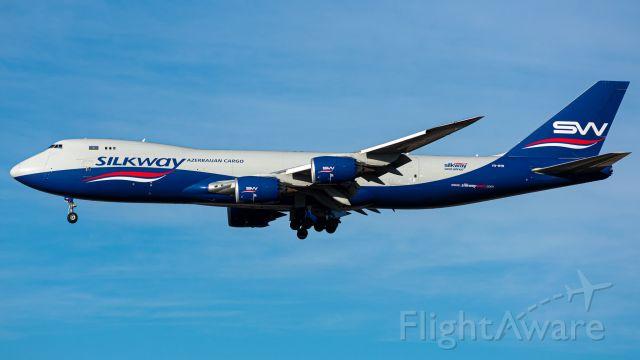 BOEING 747-8 (VQ-BVB) - Straight from Baku, landing 18L at DFW.  AZG 1689 GYD-DFW