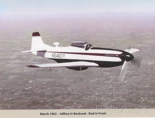N5460V — - Photo taken over Detroit in 1962