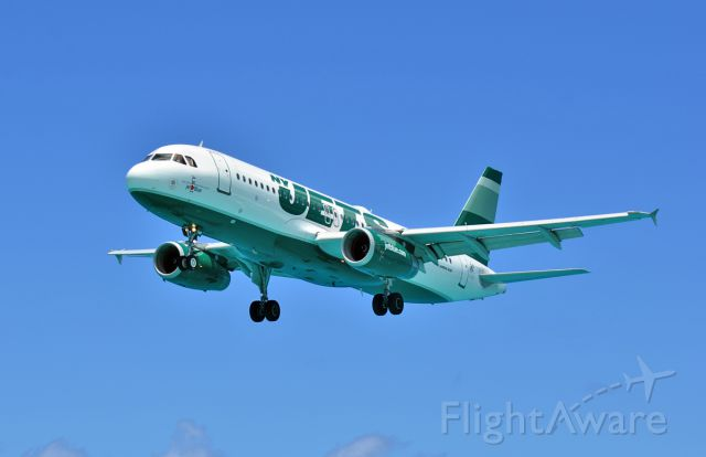Airbus A320 (N746JB) - Zooming into The Princess; an ambassador from the Big Apple.