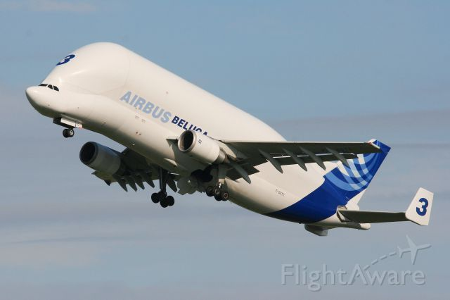 SATIC Super Transporter (F-GSTC) - Airbus A300-605ST Beluga, Toulouse Blagnac Airport (LFBO-TLS)