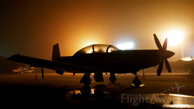 — — - CT-156 Harvard II overnight fog