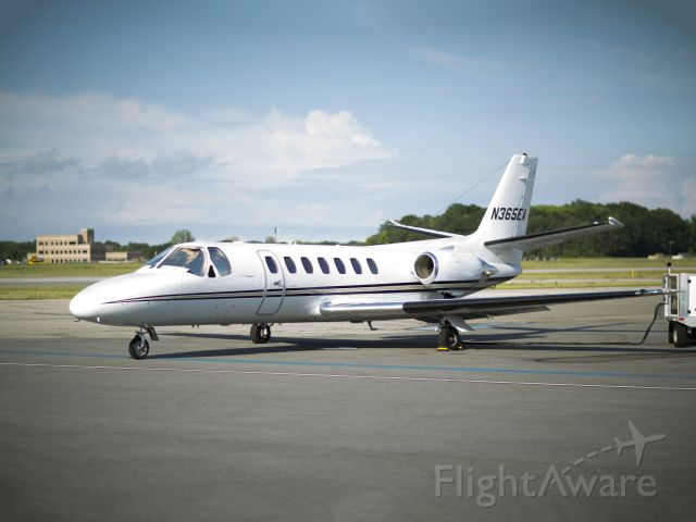 """Cessna Citation V (N365EA) - The aircraft is managed by CFM Corporate Flight Management <a rel=""""nofollow"""" href=""""http://www.flycfm.com"""">www.flycfm.com</a>"""