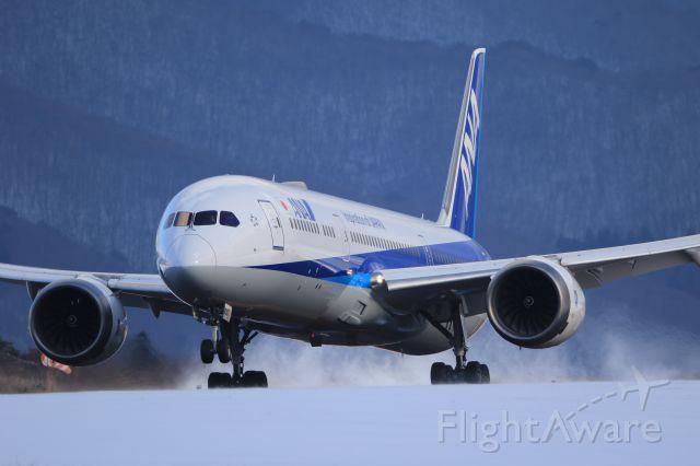 Boeing 787-9 Dreamliner (JA830A) - December 28th 2019:HND-HKD.