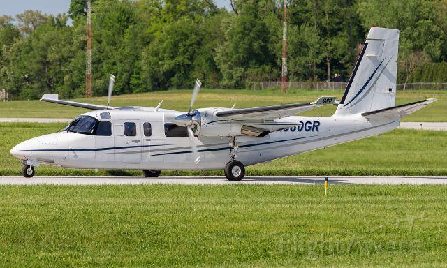 Gulfstream Aerospace Jetprop Commander (N980GR) - A Gulfstream 695 taxi's past at KVPZ.