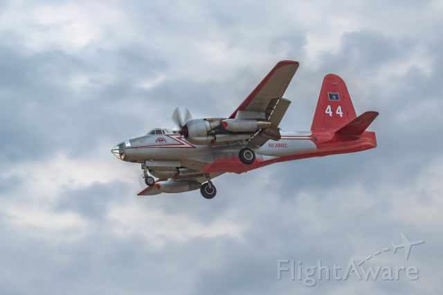 — — - Neptune Aviation Lockheed P2V-5 returning to KFAT after battling Willow Fire in North Fork, CA. (2015)