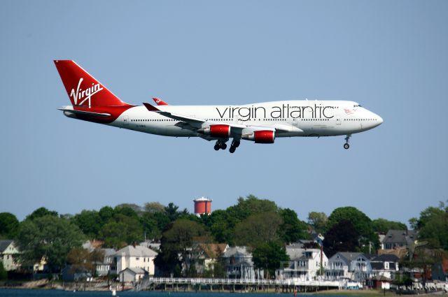 Boeing 747-400 (G-VBIG) -