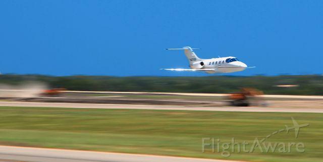 N471XP — - High-speed low pass, McKinney TX of a Beechjet.