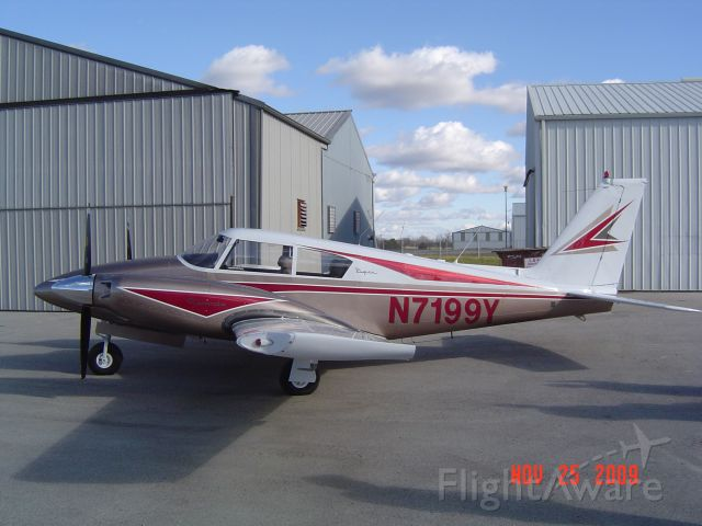 Piper PA-30 Twin Comanche (N7199Y) - Fresh out of the paint shop