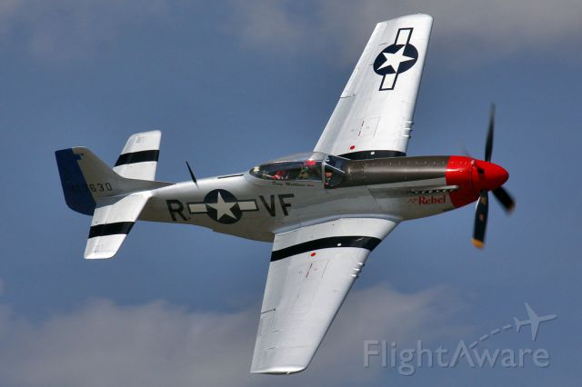 North American P-51 Mustang (41-3630) - The Rebel @ TICO Warbird Airshow 2014