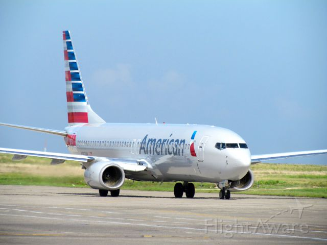 Boeing 737-800 (N963AN) - After start-up, ready for taxi to Fort Lauderdale (KFLL)