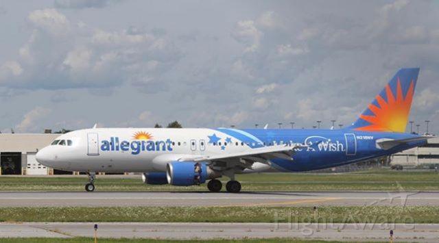 Airbus A320 (N218NV) - G4 has a pretty good network at SYR