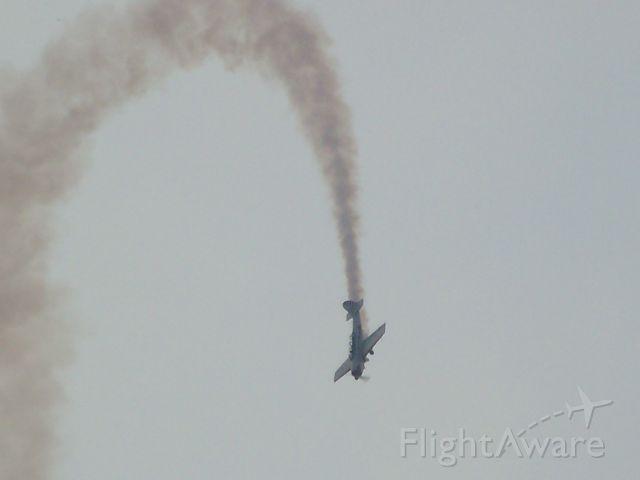 — — - at a airshow