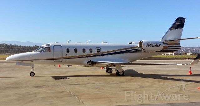 IAI Gulfstream G100 (N415BS) - On the ramp at Air 7 after its new paint job!
