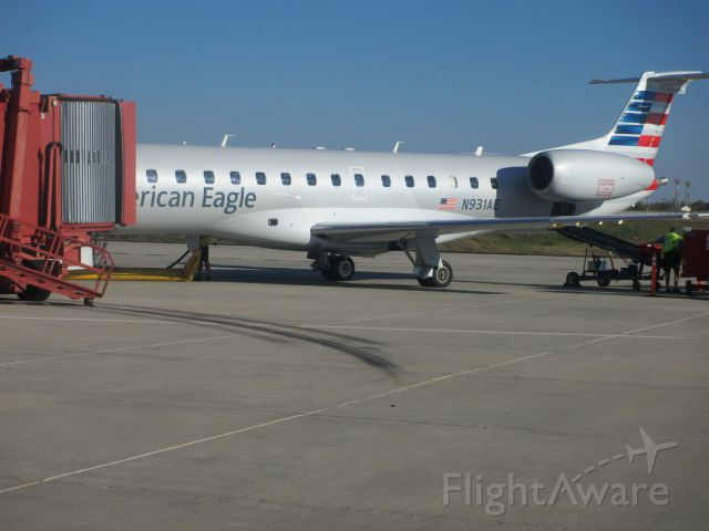 N931AE — - N931AE Parked at Joplin,with new paint scheme.