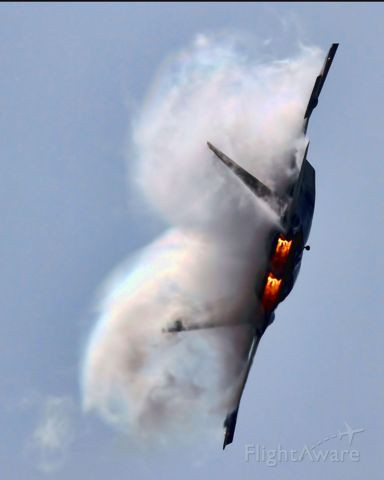 Lockheed F-22 Raptor — - Air Show, Oct 2010, Miramar
