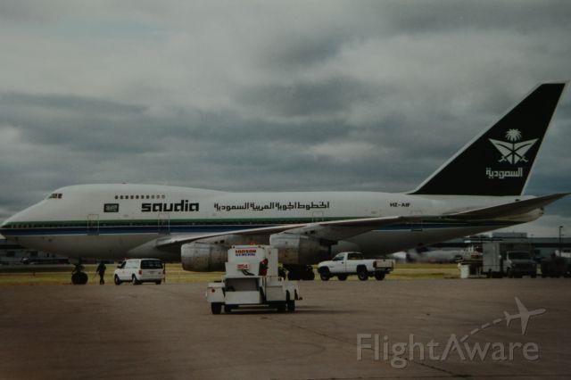 Boeing 747-200 (HZ-AIF) - Saudi VIP flight to Toronto