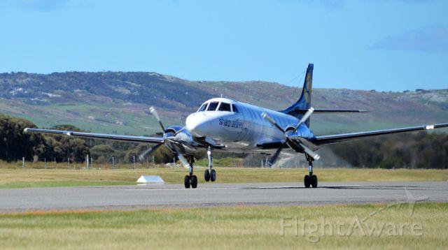 Fairchild Dornier SA-227DC Metro (VH-SEZ) - Rotate, RWY 32 Flinders Island, Sept 2016